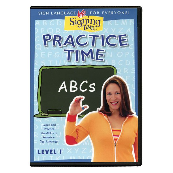 Practice Time ABCs Level 1 DVD