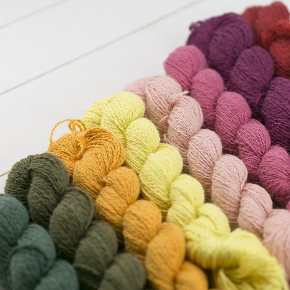Nepal Strickgarn | 60% Baumwolle , 28% Leinen und 12% Brennnessel Strickwolle Strickgarne nach Material Baumwolle