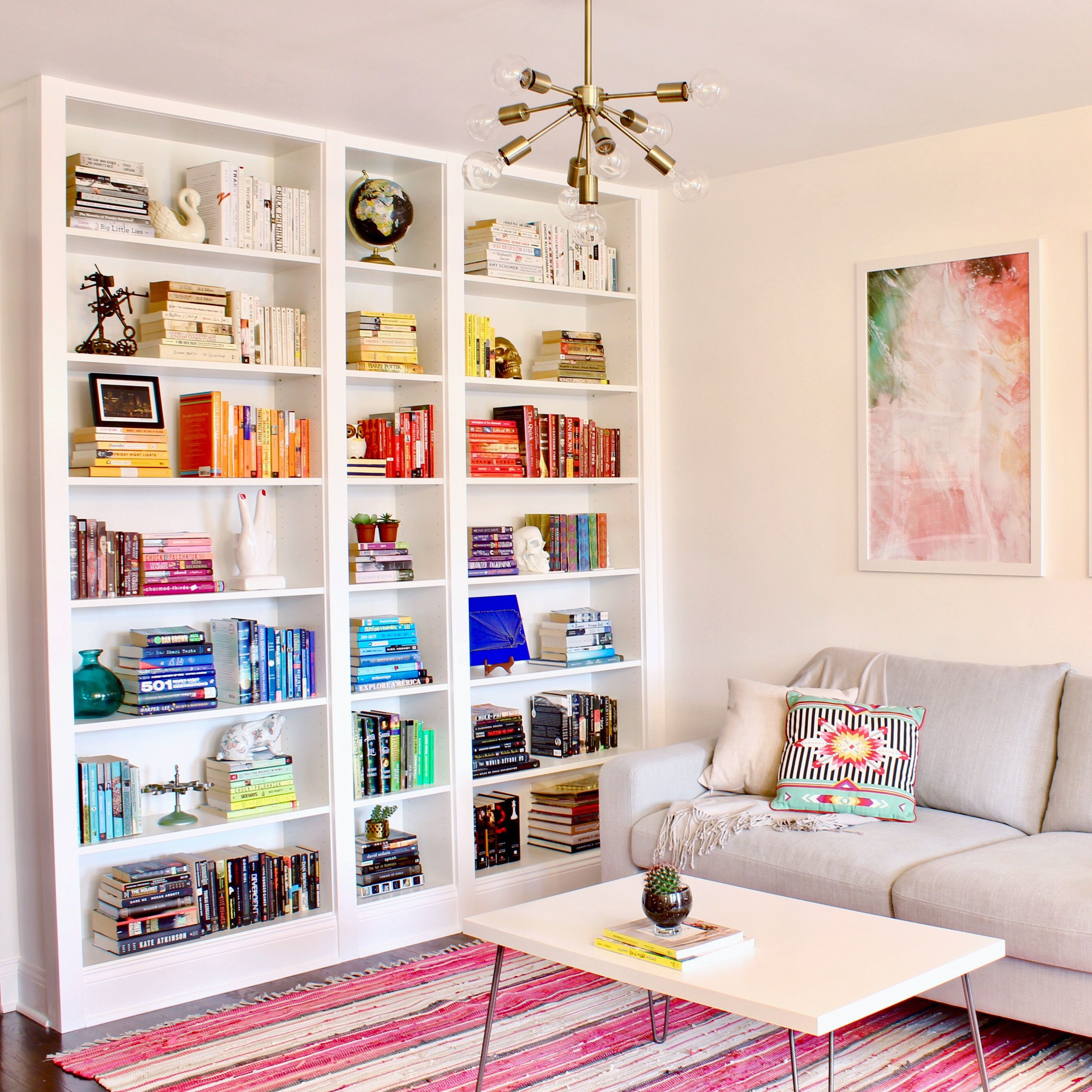 IKEA Built-In Billy Bookcases