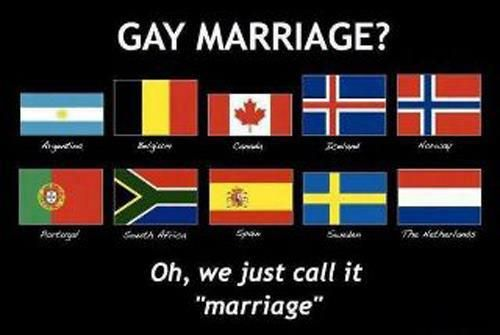 """Gay Marriage? Oh, We Just Call It """"Marriage,"""" #LGBT"""