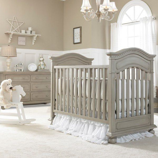 Bivona Dolce Babi Naples Traditional Baby Bed and Double Dresser