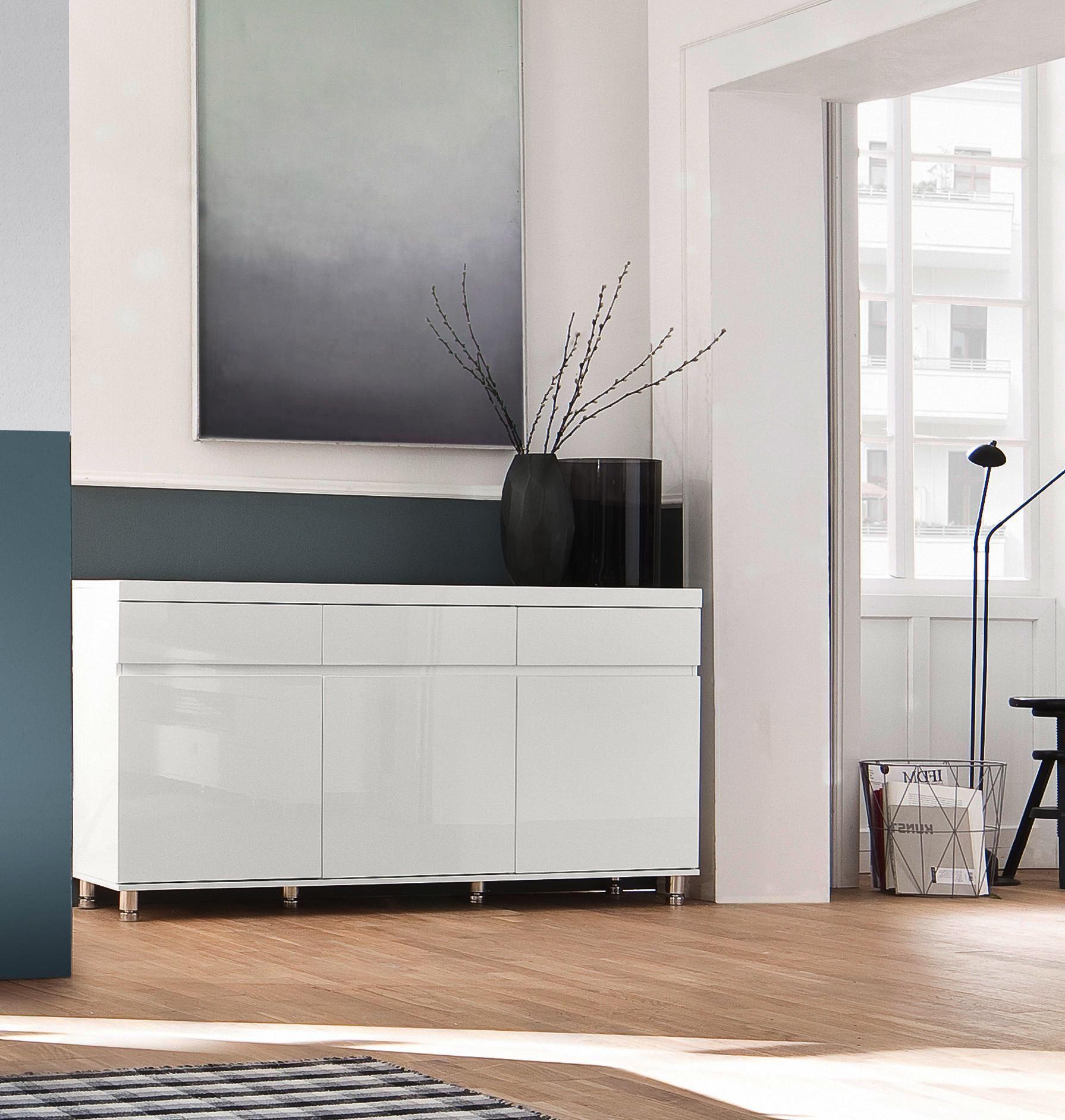 Sideboard 165 83 40 Cm Online Kaufen Xxxlutz Sideboard Sideboard Hochglanz Haus Deko