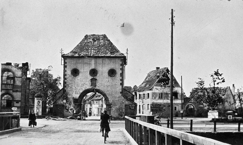Haguenau Porte De Wissembourg Guerre Diorama Portes