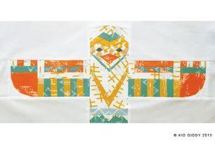 Totem Eagle Paper Piecing Pattern