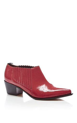 Low Cost Cheap Price Sonia by Sonia Rykiel Patent Leather Mid Heel Prices Cheap Online Best Wholesale Sale Online Low Shipping WxDV1RoQk2
