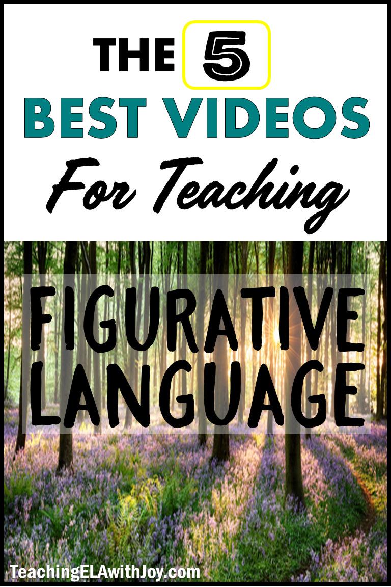 5 BEST Videos for Teaching Figurative Language is part of Teaching figurative language, Figurative language middle school, Figurative language, Language teaching, Teaching ela, Figurative language station - Engage your students in great lessons using these videos for teaching figurative language! Check out the Top 5 here and save time searching!