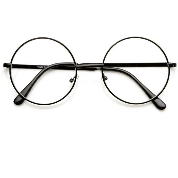 Costume Harry Potter Movie Novelty Clear Lens Glasses 9222 (56595 ...