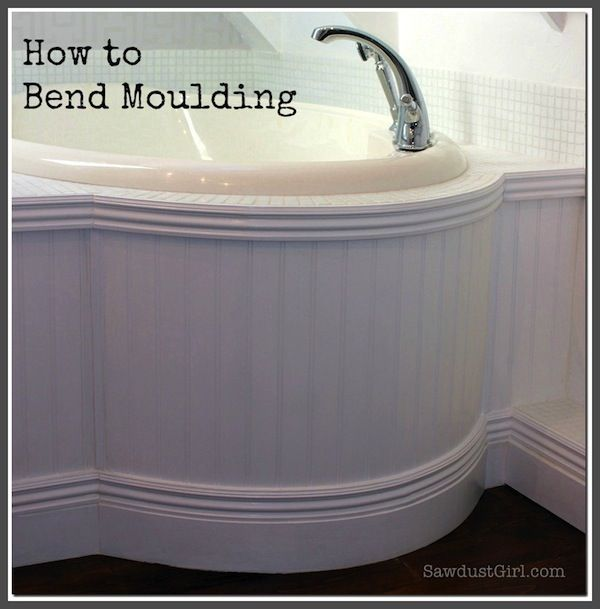 How To Bend Moulding Sawdust Girl Flexible Molding Moldings And Trim Diy Home Improvement