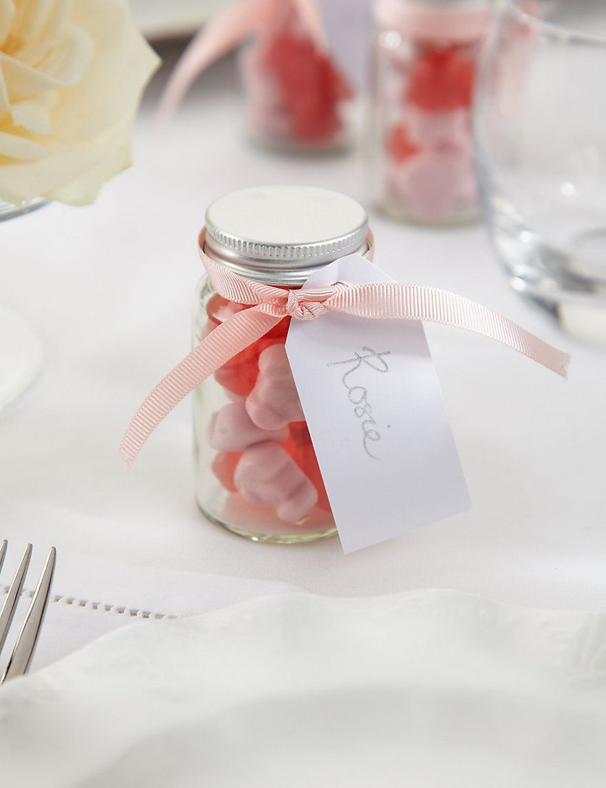 Create Your Own Percy Piglets™ Wedding Favours with Pink Ribbons ...