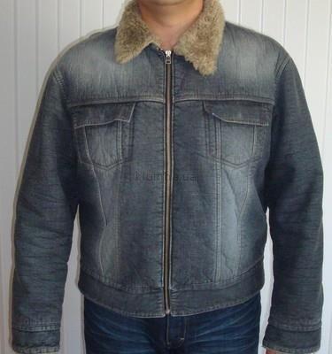 Куртка джинсовая с мехом турция