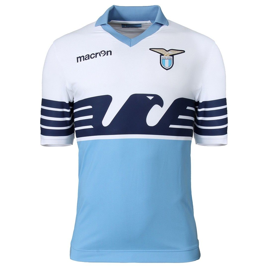 c7f31d12db1 SS Lazio 2015 Macron 115th Anniversary Football Kit
