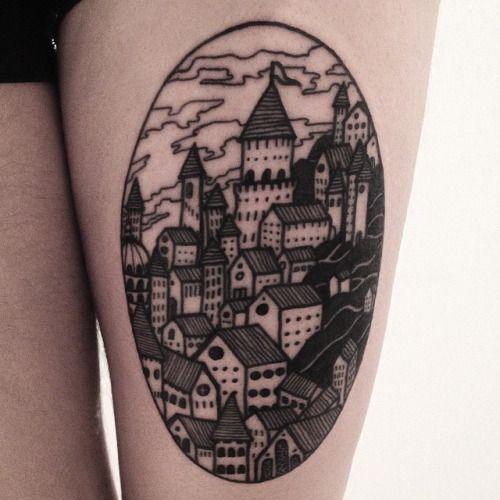 architecture tattoo - Pesquisa Google
