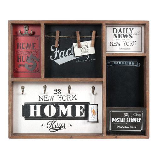 tableau porte cl s factory decoupage pinterest. Black Bedroom Furniture Sets. Home Design Ideas