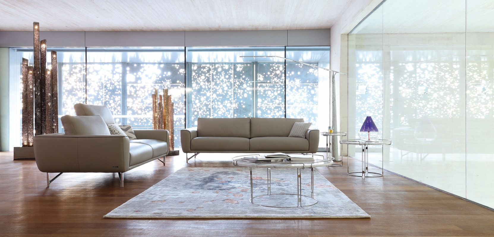 Roche Bobois - SYNTHESIS LARGE 3-SEAT SOFA design R.Tapinassi & M ...
