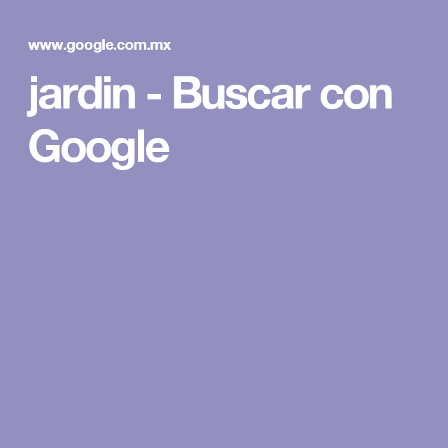 jardin - Buscar con Google