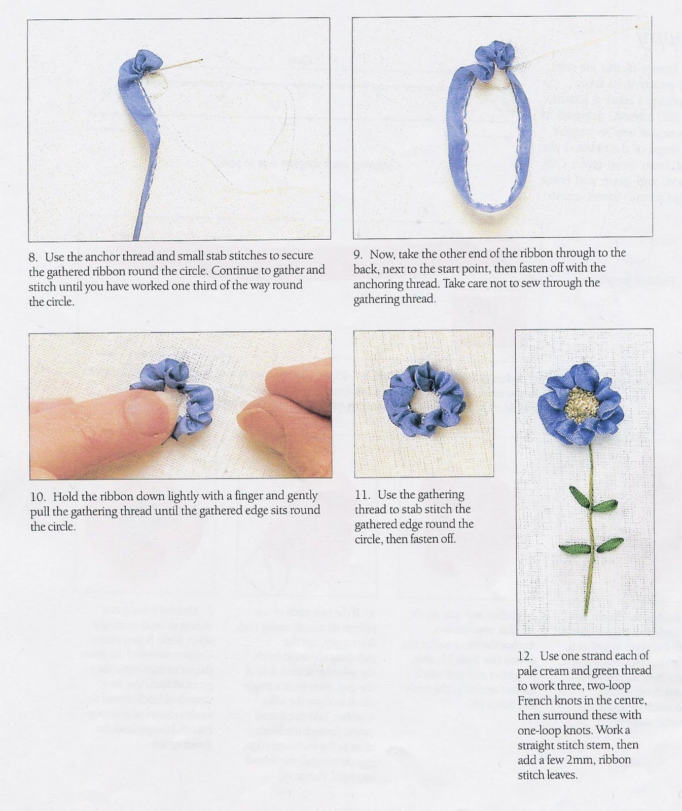Silk Ribbon Embroidery Designs And Techniques Ribbon Embroidery