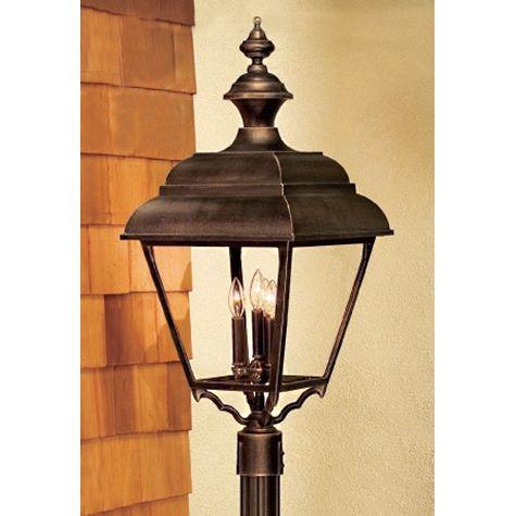 Hanover Lantern B31830 Grande Plymouth Post Mount