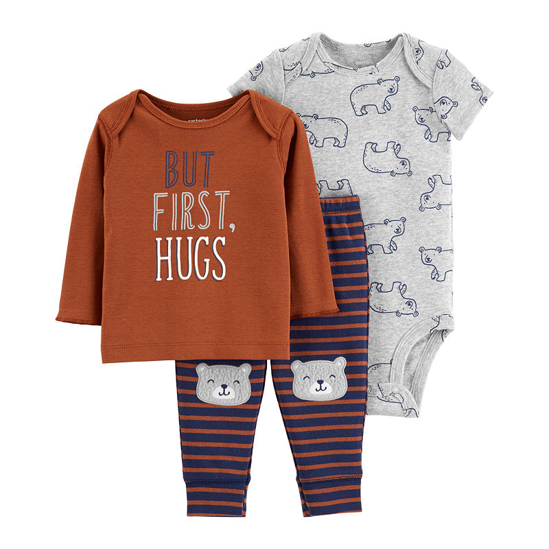 9228d287f Carter's Little Baby Basics 3-pc. Layette Set-Baby Boys | Products ...