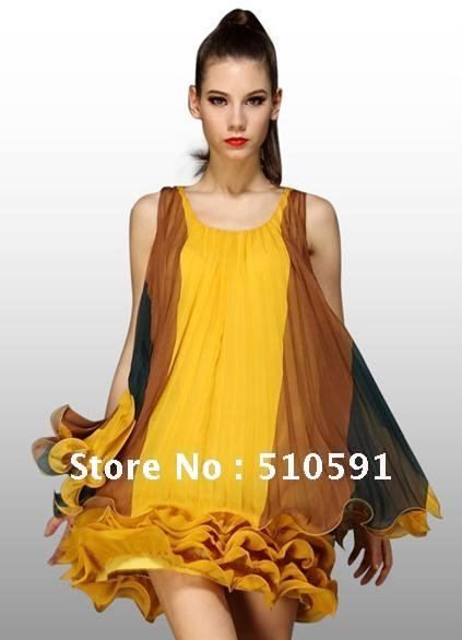clothes from urup | Summer-High-quality-high-fashion-women-s-clothing-Europe-silk-dress ...