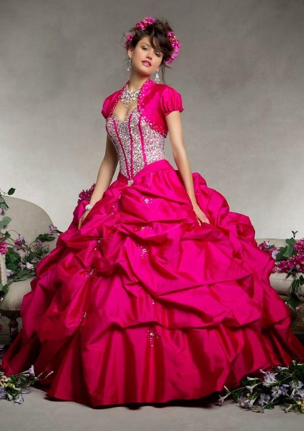 Grandiosos vestidos de Quinceanera | Coleccion Vizcaya 2014 ...