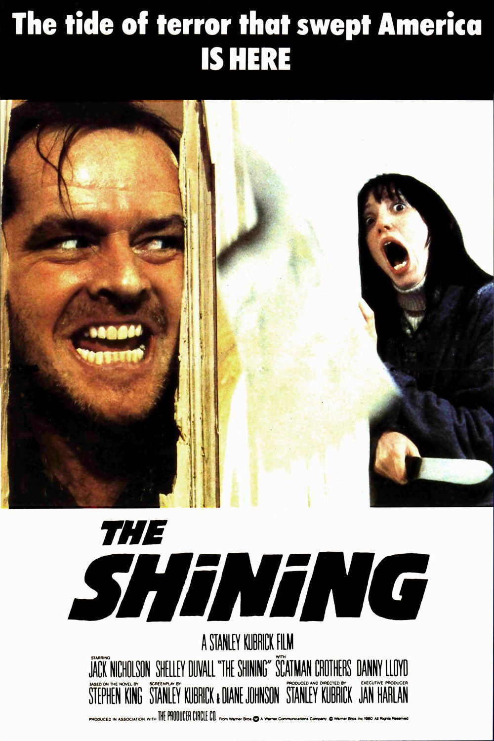 #3. The Shining (1980) Rated 8.5