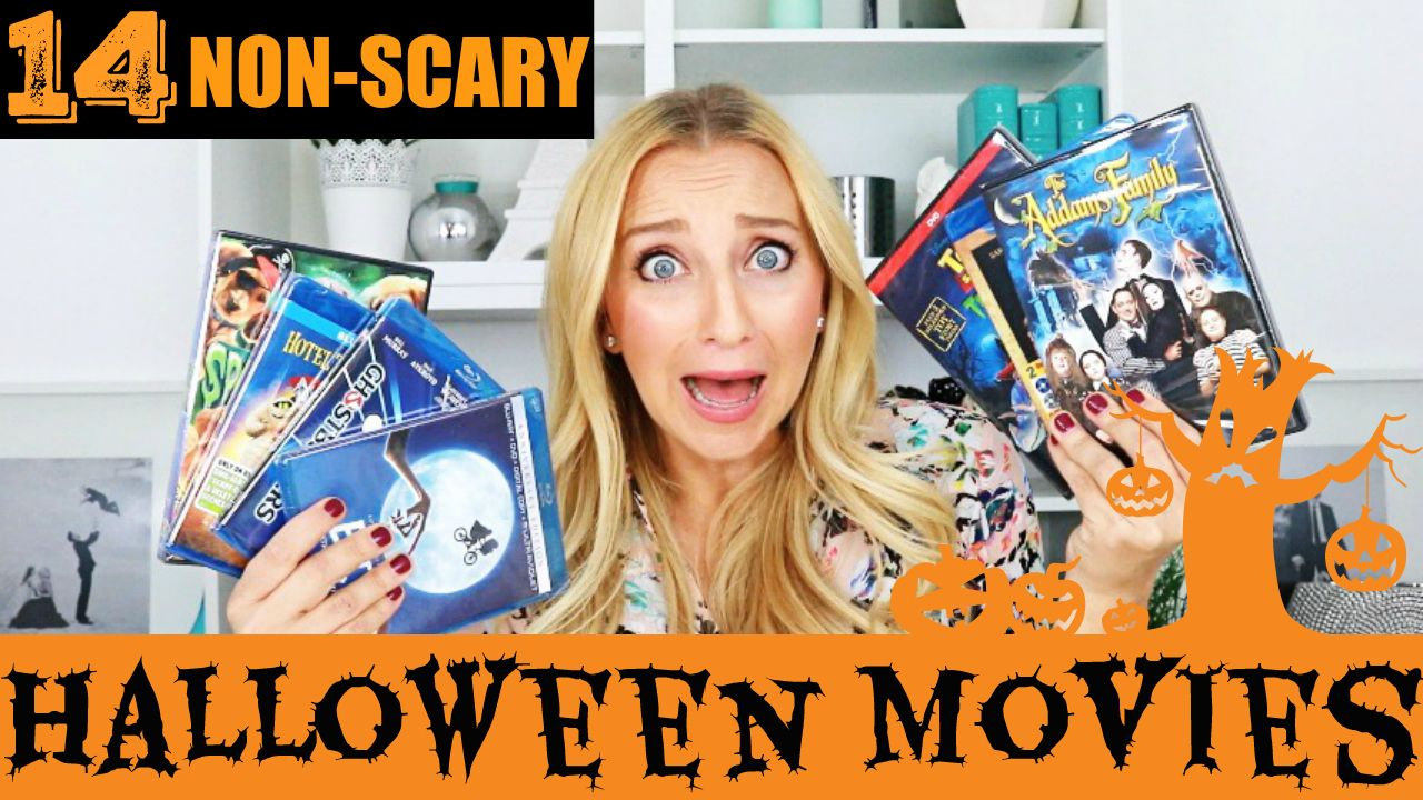 14 NON SCARY, KID FRIENDLY Halloween Movies! https//www
