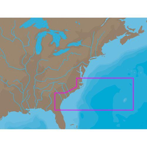 C-MAP NT+ NA-C304 - Norfold-Bermuda-Jacksonville - C-Card