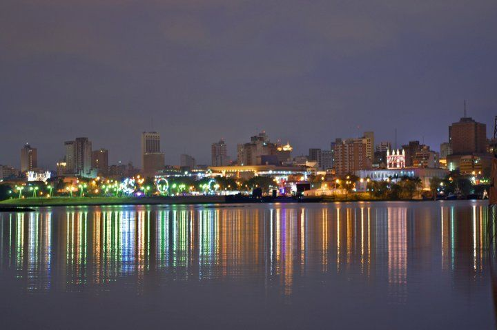 Ciudades Del Paraguay Asuncion Capital Paraguay Wonders Of The World Landlocked Country South America