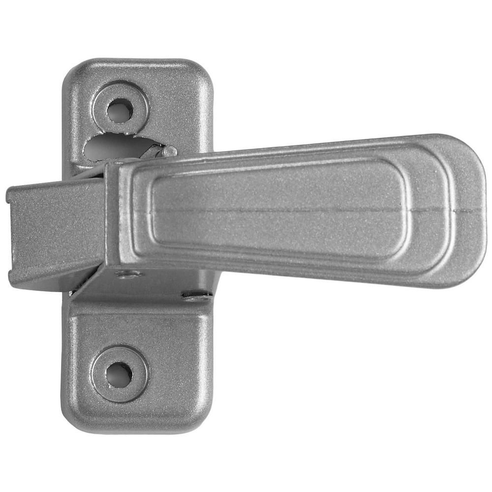 Ideal Security Wc Silver Inside Latch Satin Silver Storm Door