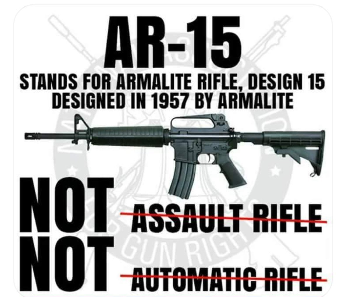 Study & learn about an AR-15 so you know exactly what it is... It\'s ...