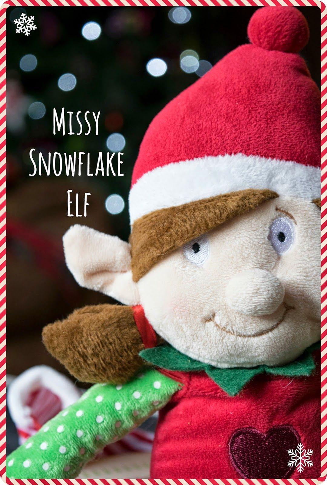 blogger mummy lauren's elf arrival