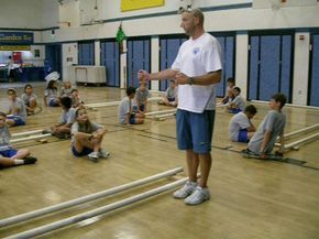 Tinikling- Step 1 (Side to Side) by Judson Sickler. This video demonstrates Step 1, Side to Side, in Tinikling. there are five videos excellent