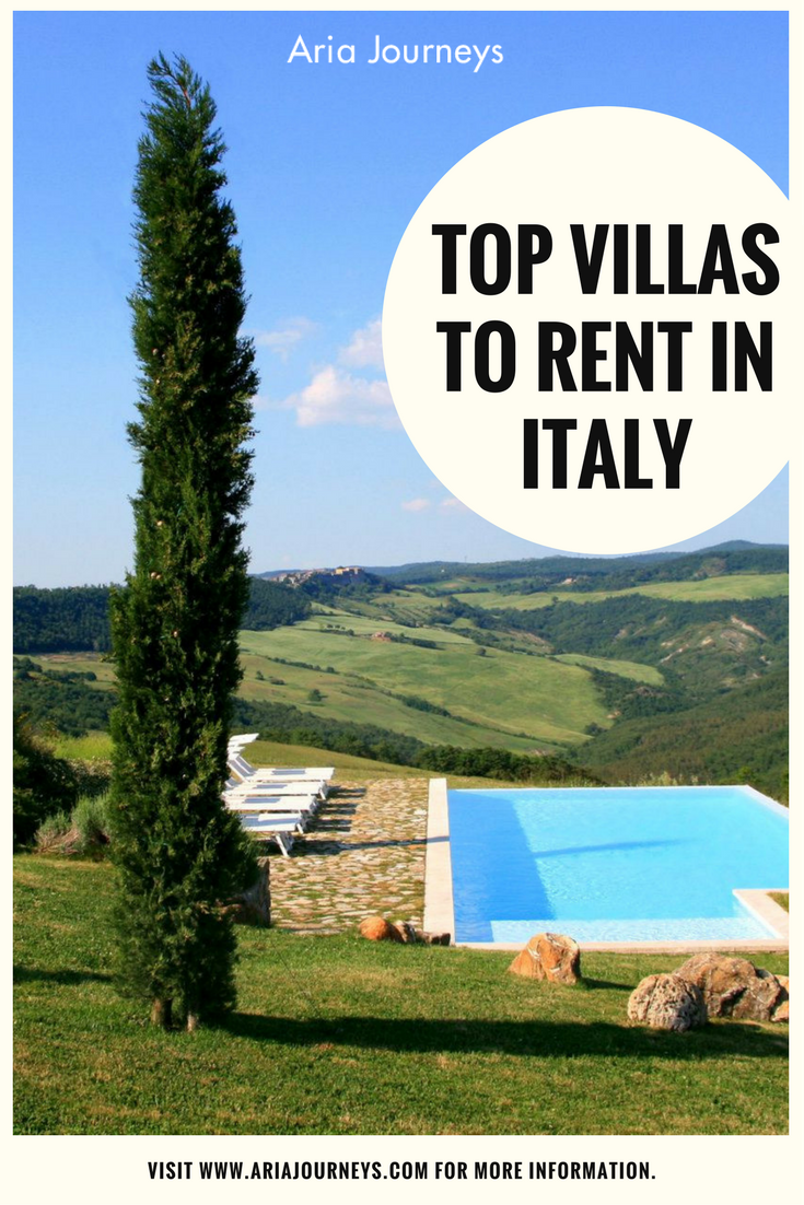 Discover The Top Villas For Rent In Italy With Aria Journeys Ariajourneys Villas Luxury Villa Rental Luxury Villa Rentals Italy
