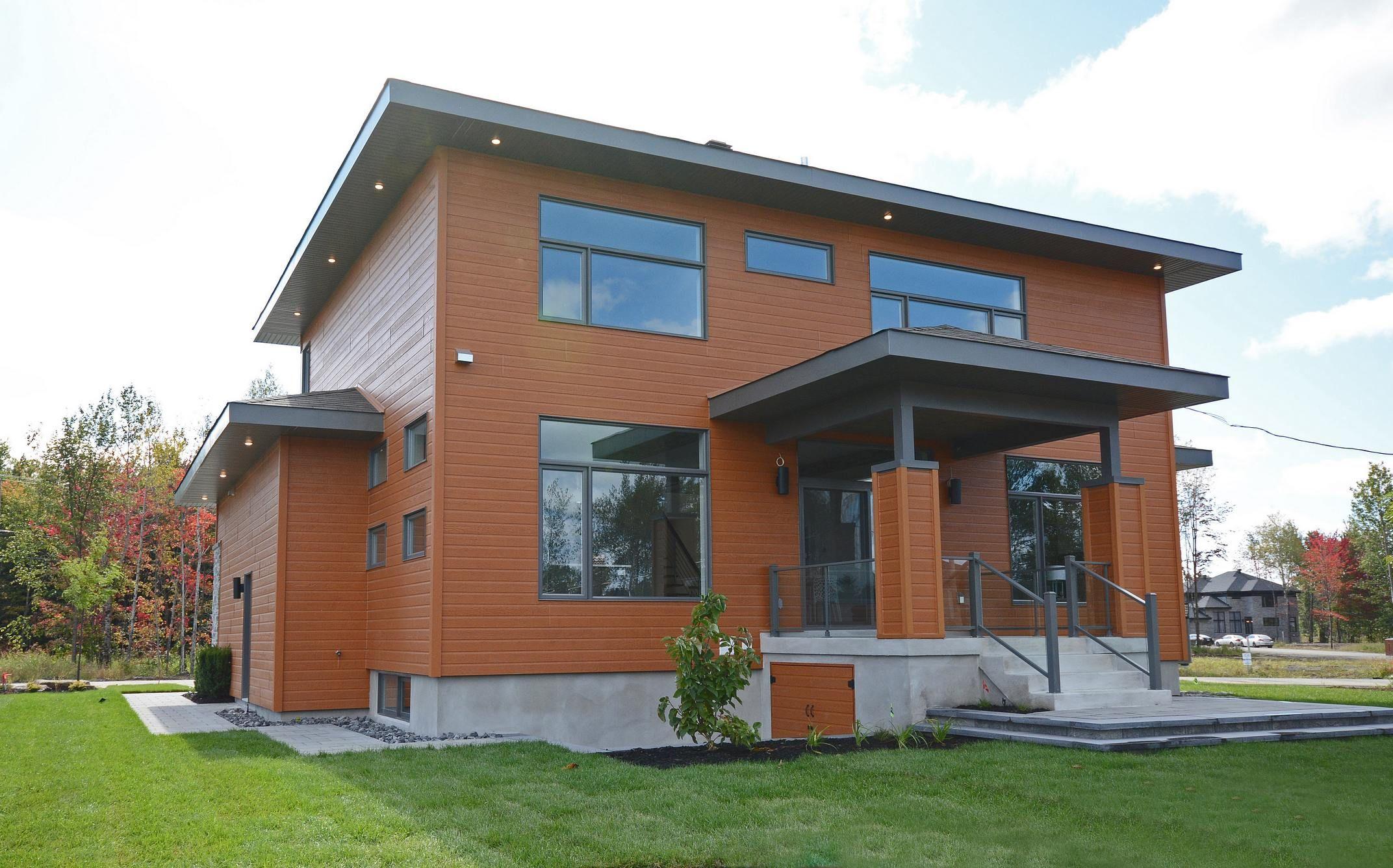 Custom Home by  Les Constructions Raymond et Fils, Quebec, Canada