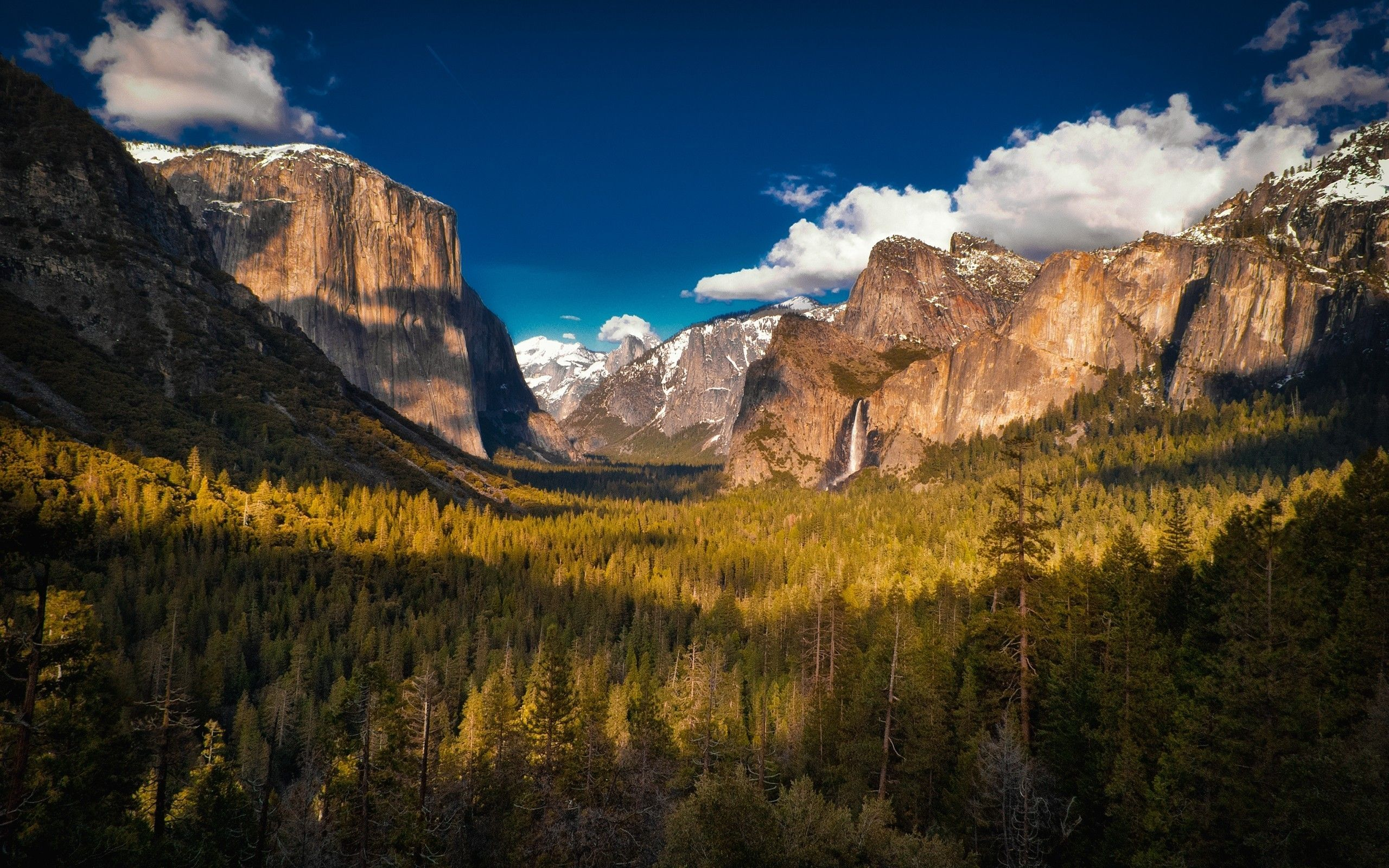 general 2560x1600 forest mountains nature clouds yosemite national park