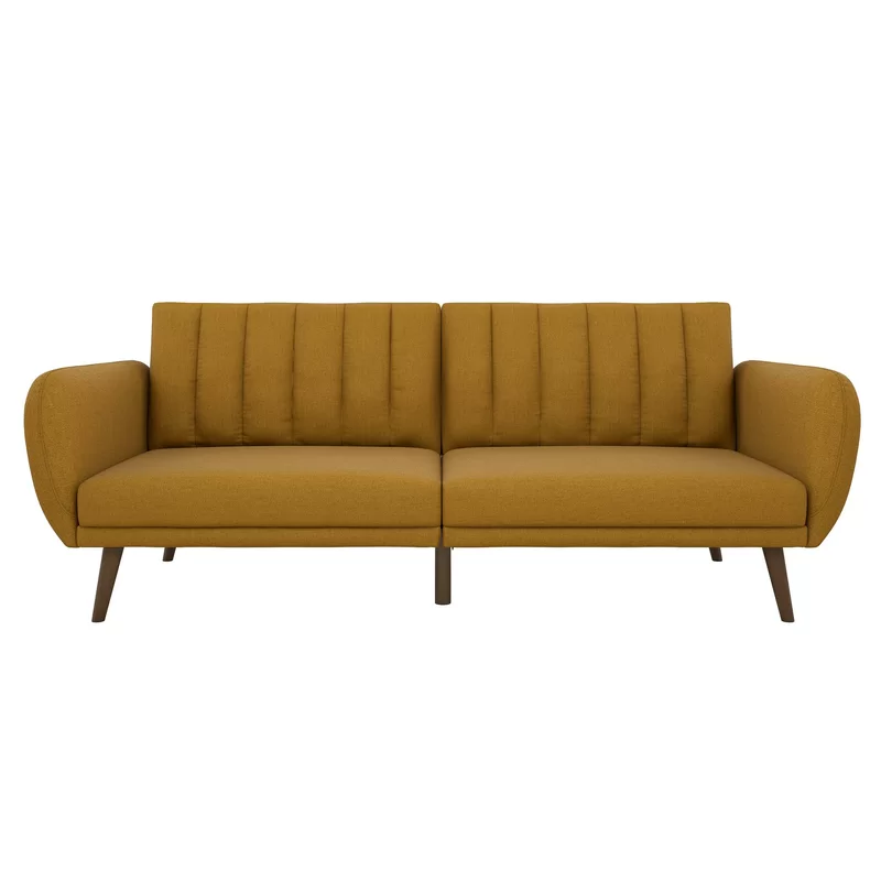 Novogratz Brittany Full 81 5 Split Back Convertible Sofa In 2020 Sofa Furniture Futon Sofa