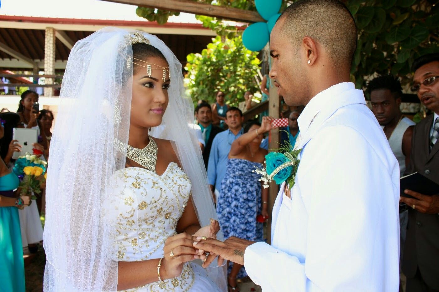 Juan Amador Hochzeit Trinidadian Wedding In Caribbean Connection Trinidad And Tobago