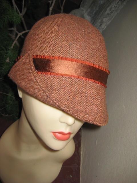 Hat Sewing Pattern 22 Inch Headsize Ladies Flip Peak Sectional Etsy Hat Patterns To Sew Sewing Patterns Hat Pattern