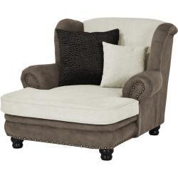 Photo of Big Ohrensessel – beige – 125 cm – 100 cm – 140 cm – Polstermöbel > Sessel > Ohrensessel Möbel Kraft