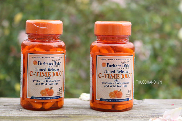 Viên uống Vitamin C Time 1000mg with Rose Hips Timed