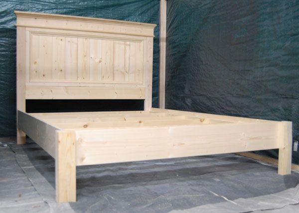 Ana White Build A Moms Fancy Farmhouse Bed Free And