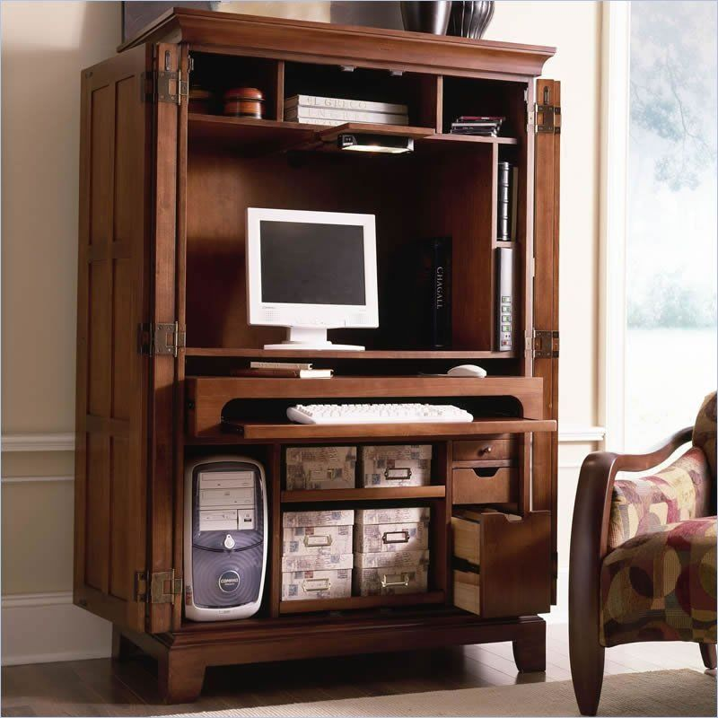 Computer Armoires For Home Office | Computer Armoires