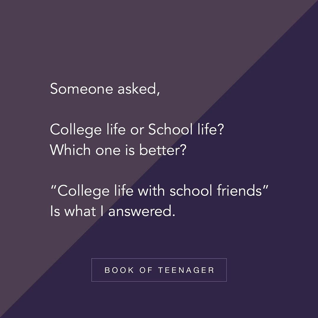 Image May Contain Text School Life Quotes Real Friendship Quotes School Days Quotes