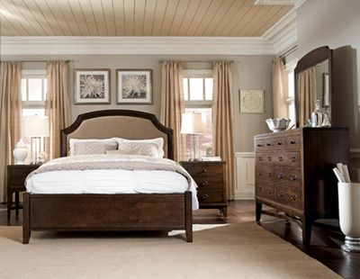 awesome Getting Traditional Touch of Transitional Bedroom Furniture ...
