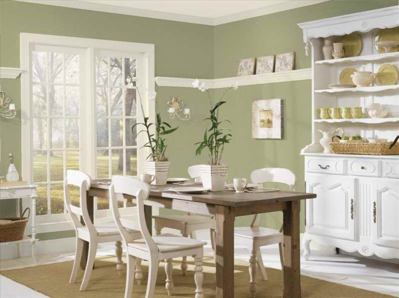 Paint Colors Benjamin Moore Green Dining Room