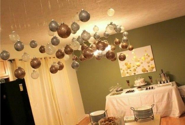 Decorare casa per capodanno home decor decorazioni for Decorazioni da appendere al soffitto
