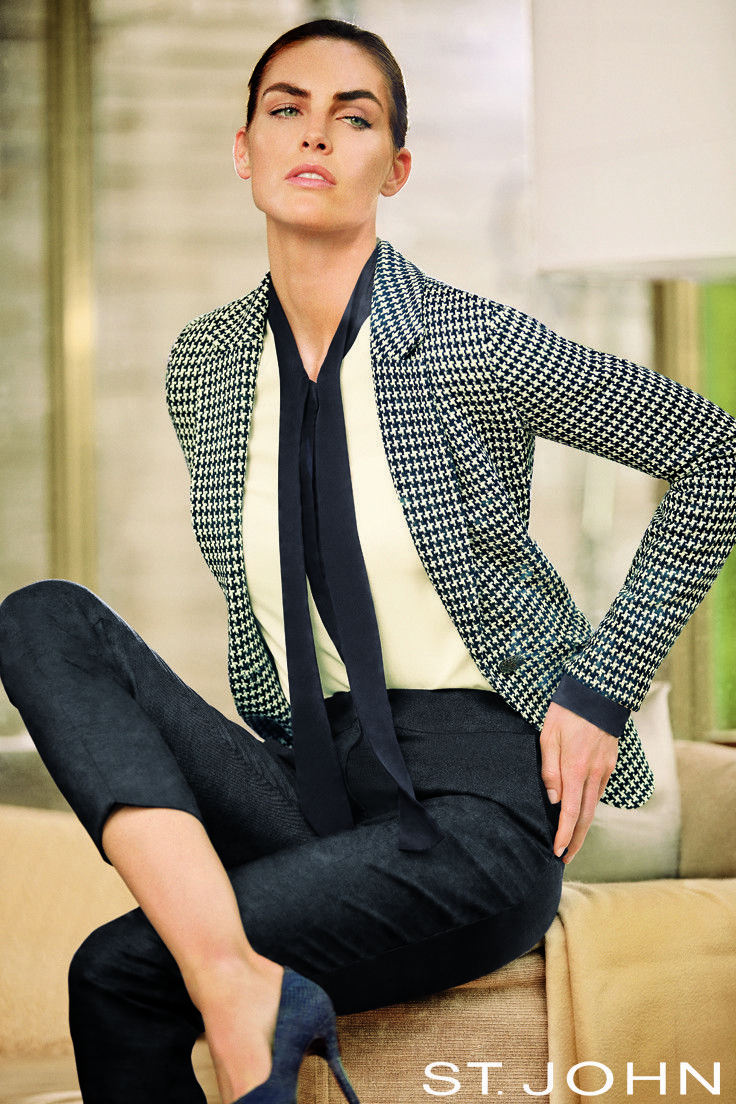 Yes you can wear capri pants for work! A pair of capris in a luxurious fabric look very sophisticated when topped with a tailored houndstooth blazer and pumps.