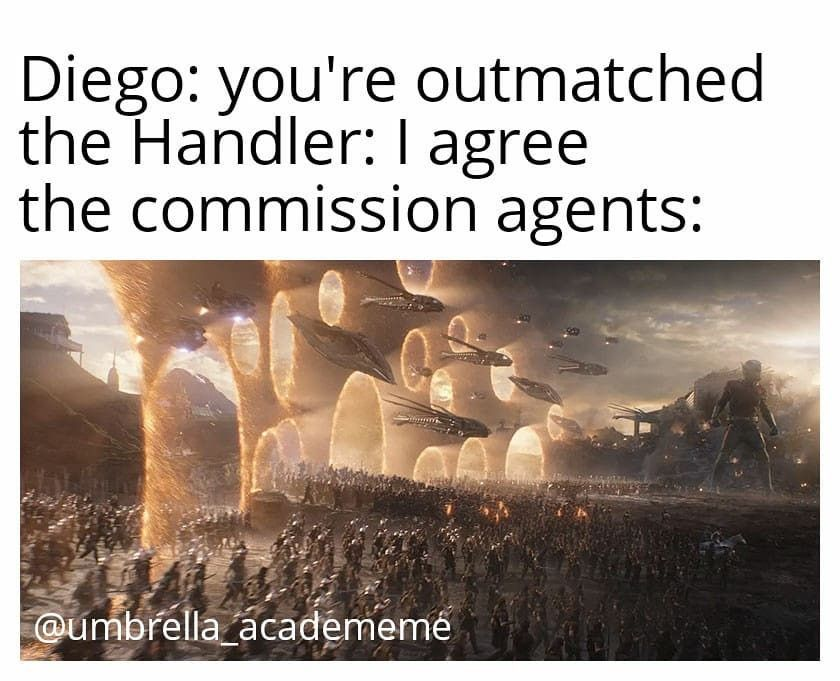 The Umbrella Academy Season 2 Edgy Memes Reddit Funny Memes