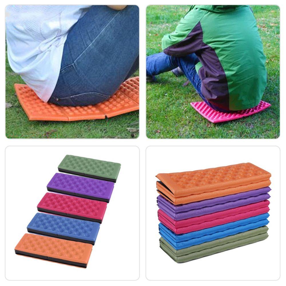 Portable Picnic Beach Seat Pad Outdoor Damp proof Camping Mat Folding Cushion SS