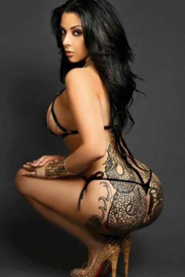 Sexey girl tattoo